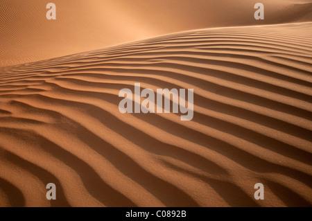 La formation des dunes de sable parfait Banque D'Images