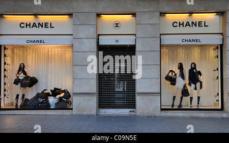 ... CHANEL BOUTIQUE, Passeig de Gràcia, Barcelone, Catalogne, Espagne,  Europe Banque D c2506955800