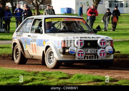 1980 Talbot Sunbeam Lotus, Mike Barratt - Race Retro, Stoneleigh Park Banque D'Images
