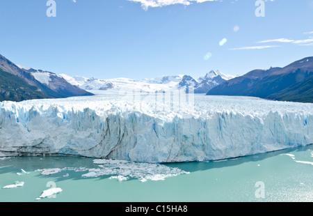 Perito Moreno Glacier, Patagonie, Argentine Banque D'Images
