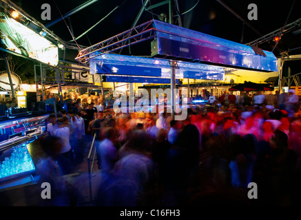 Palace Disco dans Siofok au Lac Balaton, Hongrie, Europe Banque D'Images