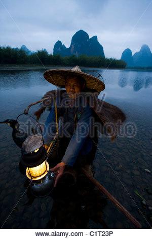 Xingping, Li River, Yangshuo, Guangxi, Chine Banque D'Images