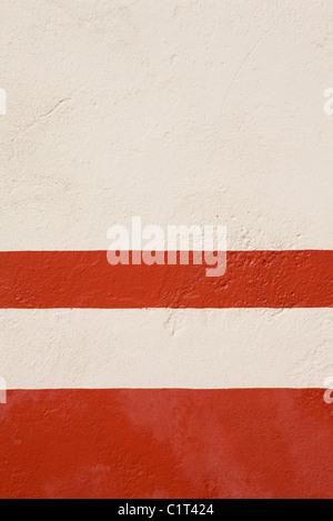 Stuc peint mur, close-up Banque D'Images
