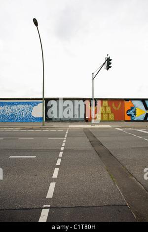Allemagne, Berlin, mur de Berlin, East Side Gallery Banque D'Images