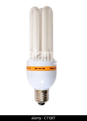 Ampoule à économie d'énergie Banque D'Images