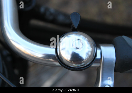 Close up of a bike bell Banque D'Images