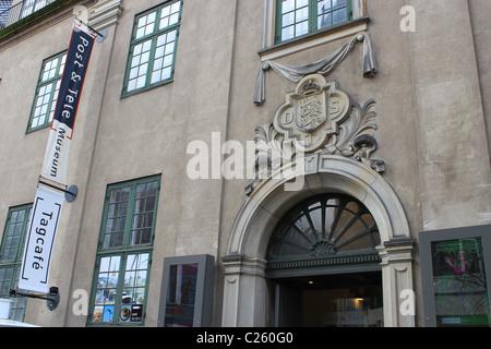 L'entrée de Post & Tele Museum Copenhague