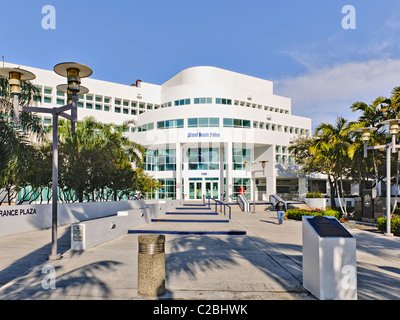Service de police de South Beach, Miami Banque D'Images