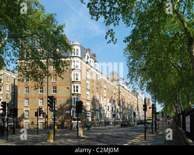 Son Trustust Peabody Peabody Chelsea Gardens, Londres. Rénovation d'appartements de logement social à Londres Banque D'Images