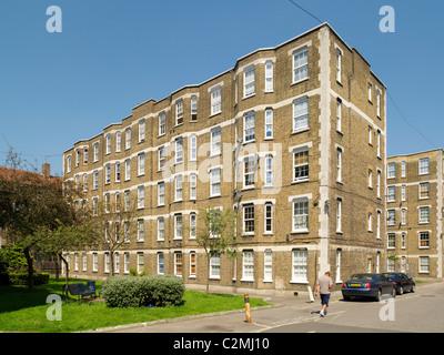 Peabody Peabody Trust Sound Pilton, London. Rénovation d'appartements de logement social à Londres Banque D'Images