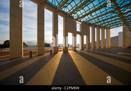La Maison du parlement de l'Australie, Canberra, ACT, Australie. Banque D'Images
