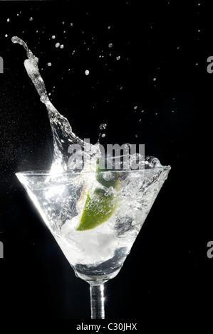 Gin et Tonic Banque D'Images