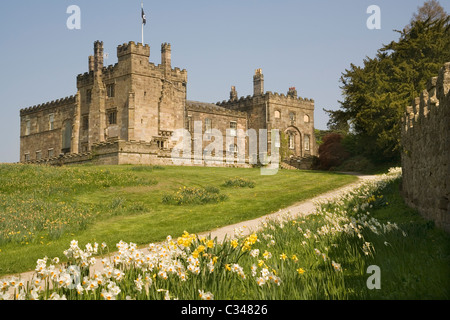 Yorkshire Angleterre Ripley castle Banque D'Images