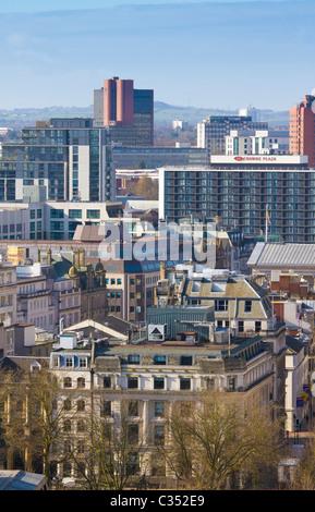 Colmore quartier d'affaires à Birmingham, West Midlands. Banque D'Images