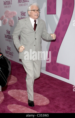 "Steve Martin New York Premiere de ""La Panthère rose 2' à la Ziegfeld Theatre - Arrivées New York City, USA - 03.02.09 Banque D'Images"