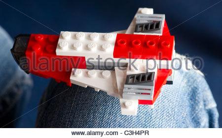 Blocs de construction Lego jouets pour enfants Banque D'Images