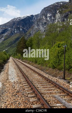 Dans les montagnes de fer Banque D'Images