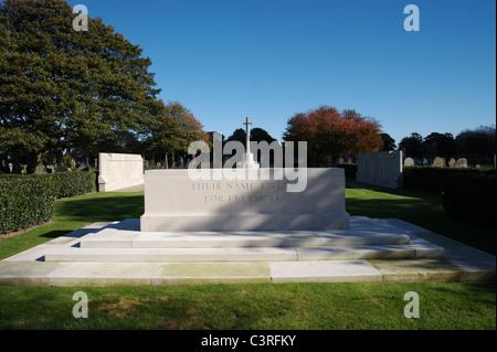 Monument commémoratif de guerre militaire au cimetière d'Anfield Liverpool, Merseyside, England, UK Banque D'Images