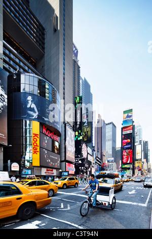 Times Square Banque D'Images