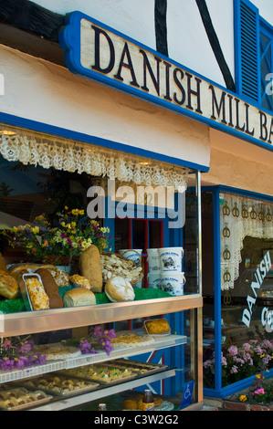 Village de style danois de Solvang, comté de Santa Barbara, Californie Banque D'Images