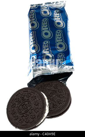 Snack Pack de biscuits Oreo Banque D'Images