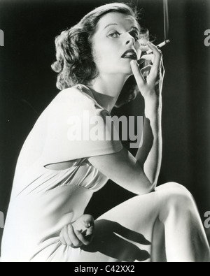 KATHARINE HEPBURN (1907-2003) Actrice américaine vers 1935 Banque D'Images