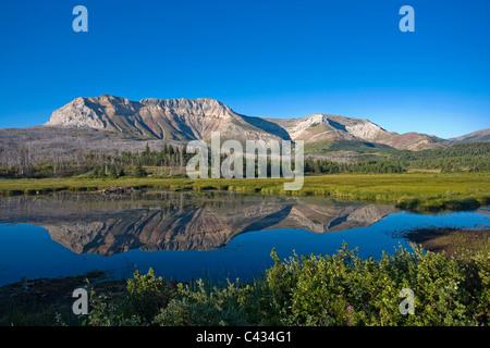 Canapé Mountain, parc national des Lacs-Waterton, Alberta, Canada Banque D'Images
