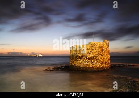 Castillo de San Cristóbal. San Cristóbal, Las Palmas, Gran Canaria, Îles Canaries, Espagne Banque D'Images