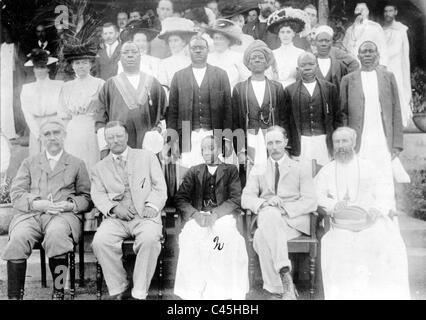 Theodore Roosevelt en Afrique orientale britannique, 1910 Banque D'Images