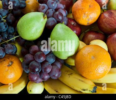 Fruits frais pour les visiteurs d'un lieu de villégiature le long de la Riviera Maya sur la péninsule du Yucatan, au Mexique, l'ouest des Caraïbes.