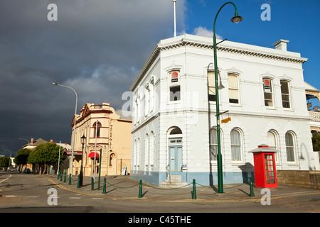 Les bâtiments du patrimoine - l'hôtel de Londres (1909) et Albany House (1878). Albany, Australie occidentale, Australie Banque D'Images