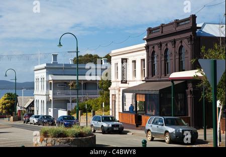 L'architecture coloniale sur la rue York. Albany, Australie occidentale, Australie Banque D'Images