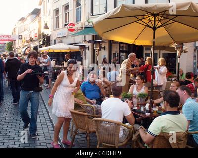 Le Festival de Jazz de Breda, aux Pays-Bas, est un événement annuel avec de nombreux groupes jouant dans les rues Banque D'Images