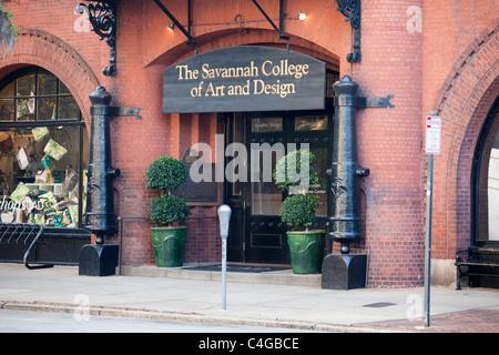 SCAD, Savannah College of Art and Design, Savannah, Géorgie Banque D'Images
