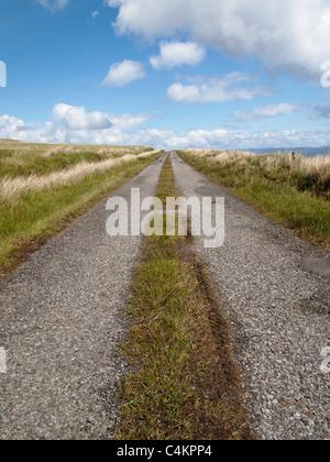 A486 road, Isle of Jura, Ecosse Banque D'Images