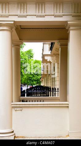 Gordon Square à Londres - le coeur de Bloomsbury, accueil du Bloomsbury Group; Wohnort bloomsbury der Gruppe