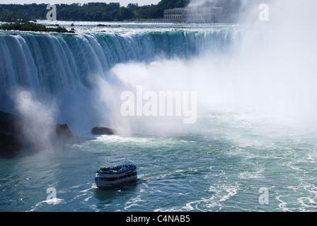 Voile de brume à Niagara Falls, Ontario, Canada Banque D'Images