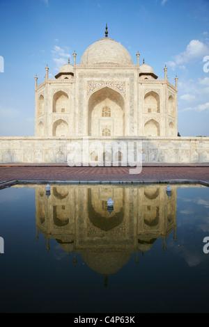 Taj Mahal, Agra, Uttar Pradesh, Inde Banque D'Images
