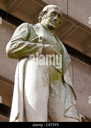 Statue de l'inventeur James Watt dans Chamberlain Square Birmingham England UK par Alexander Munro 1868 faites de Banque D'Images