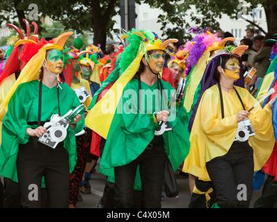 Carnaval des Cultures, Berlin 2011 Banque D'Images