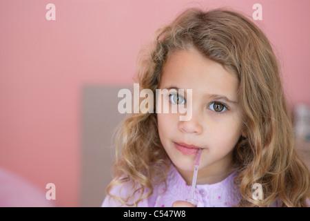 Portrait of a cute little girl Banque D'Images