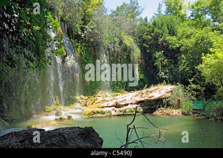 Kurşunlu Falls, en Turquie où l'ads ont été filmées Timotei Banque D'Images