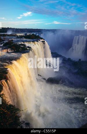 Brésil, Iguassu Falls Banque D'Images