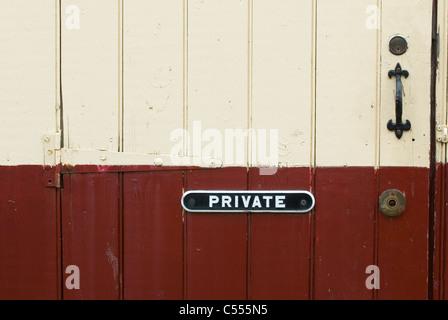 Panneau privé porte sur Ramsbottom UK