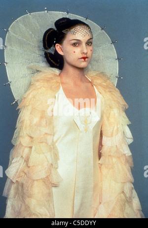 STAR WARS: Episode I - LA MENACE FANTÔME (1999), Natalie Portman (PADMÉ) CARACTÈRE LUCASFILM CRÉDIT SWPH Banque D'Images