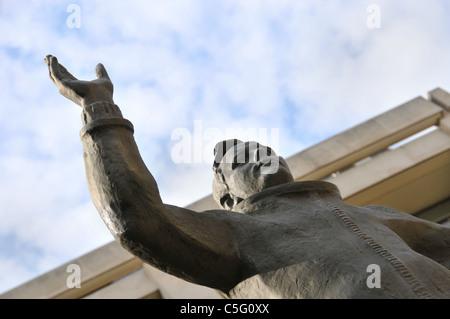 Yuri Gagarin Cosmonaut Spaceman Grande-bretagne Londres statue premier homme dans l'espace