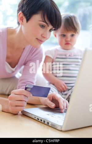 Achats en ligne Banque D'Images