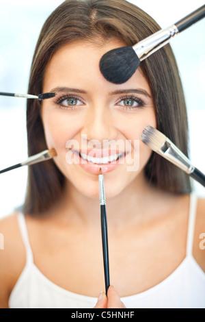Make-up, conceptual image Banque D'Images
