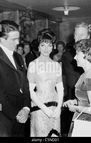 Warren Beatty, Joan Collins, 1961 Banque D'Images