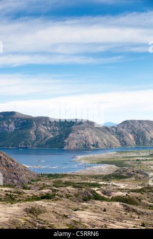Spirit Lake au Mont St Helens Monument Volcanique National Banque D'Images